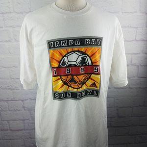 RARE Vintage 1999 Tampa Bay Sun Bowl T-Shirt